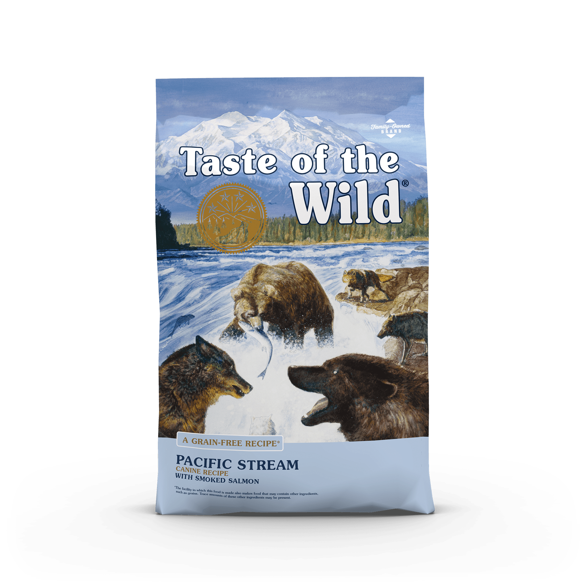 Pacific Stream Canine Recipe with Smoked Salmon Image