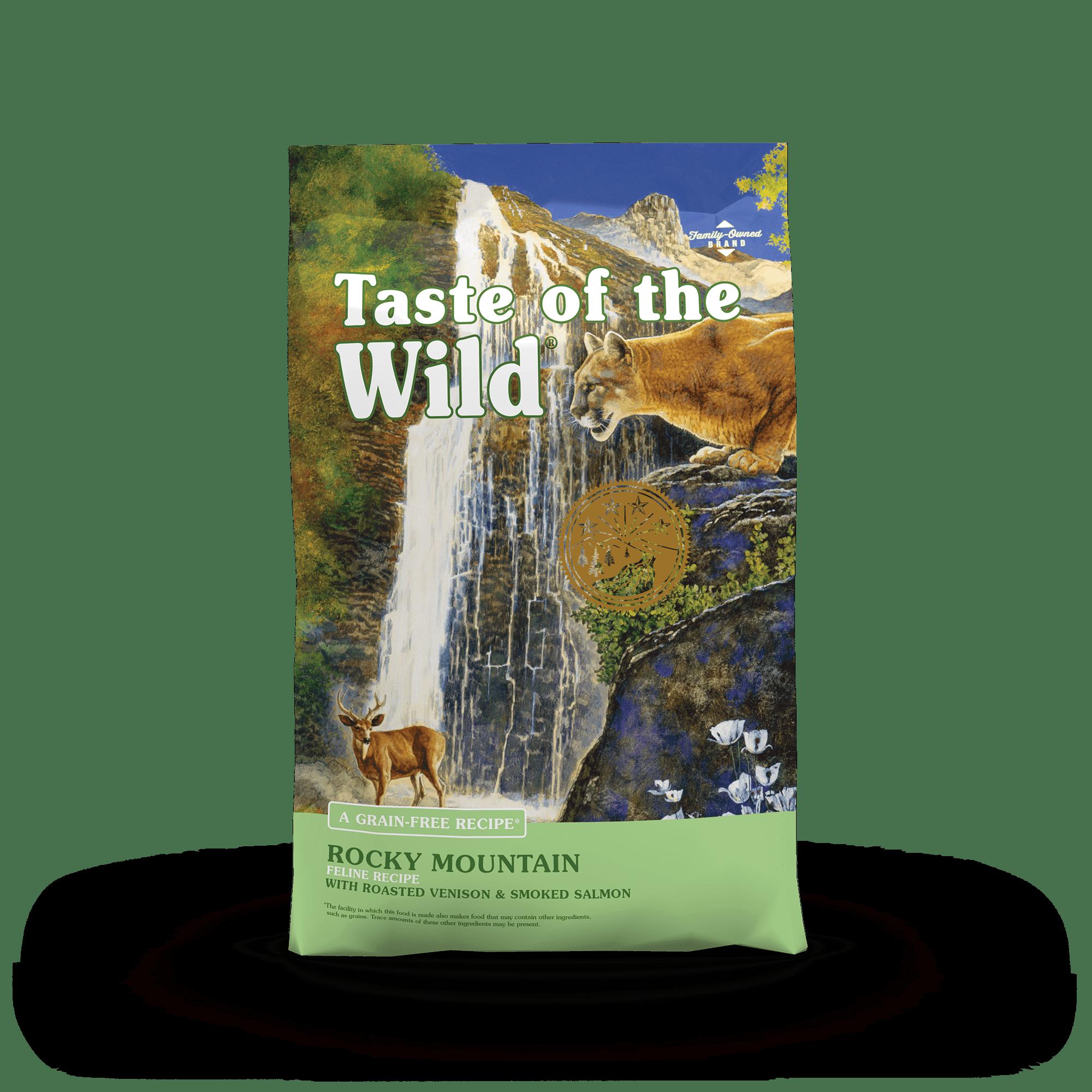 Rocky Mountain Feline Recipe with Roasted Venison & Smoked Salmon Image