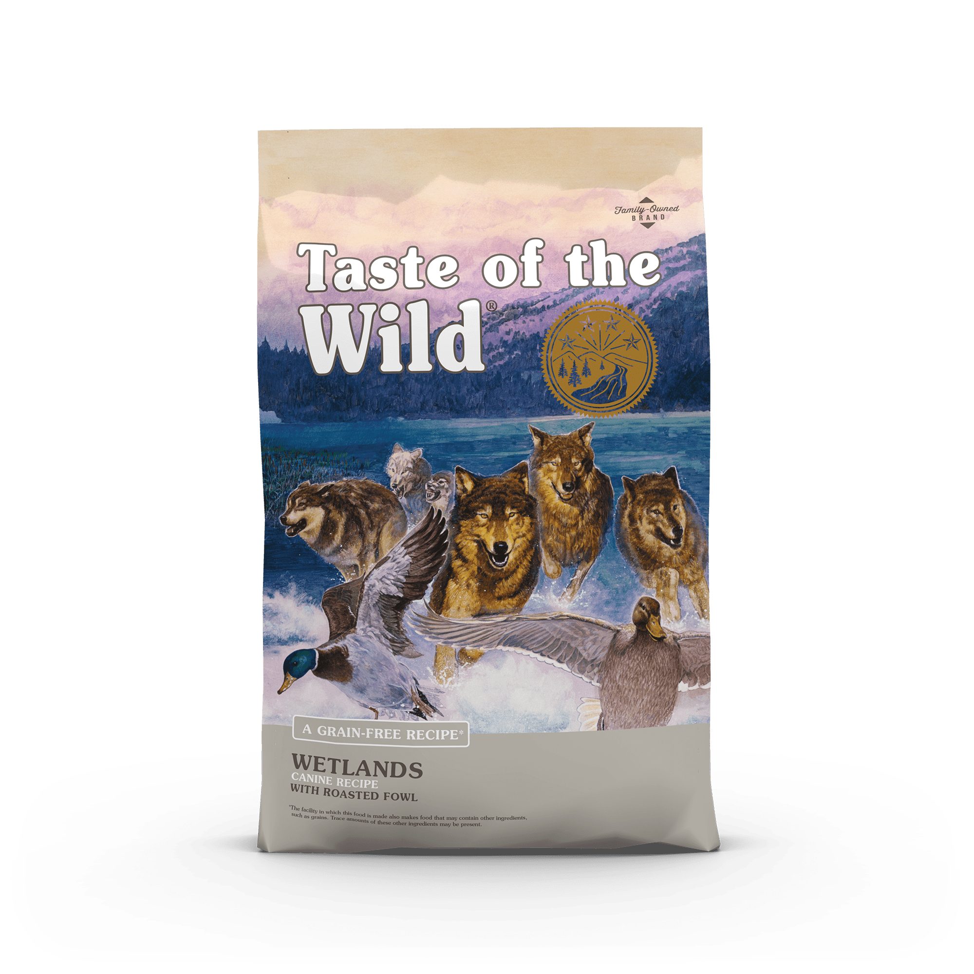 Wetlands Canine Recipe with Roasted Fowl Image