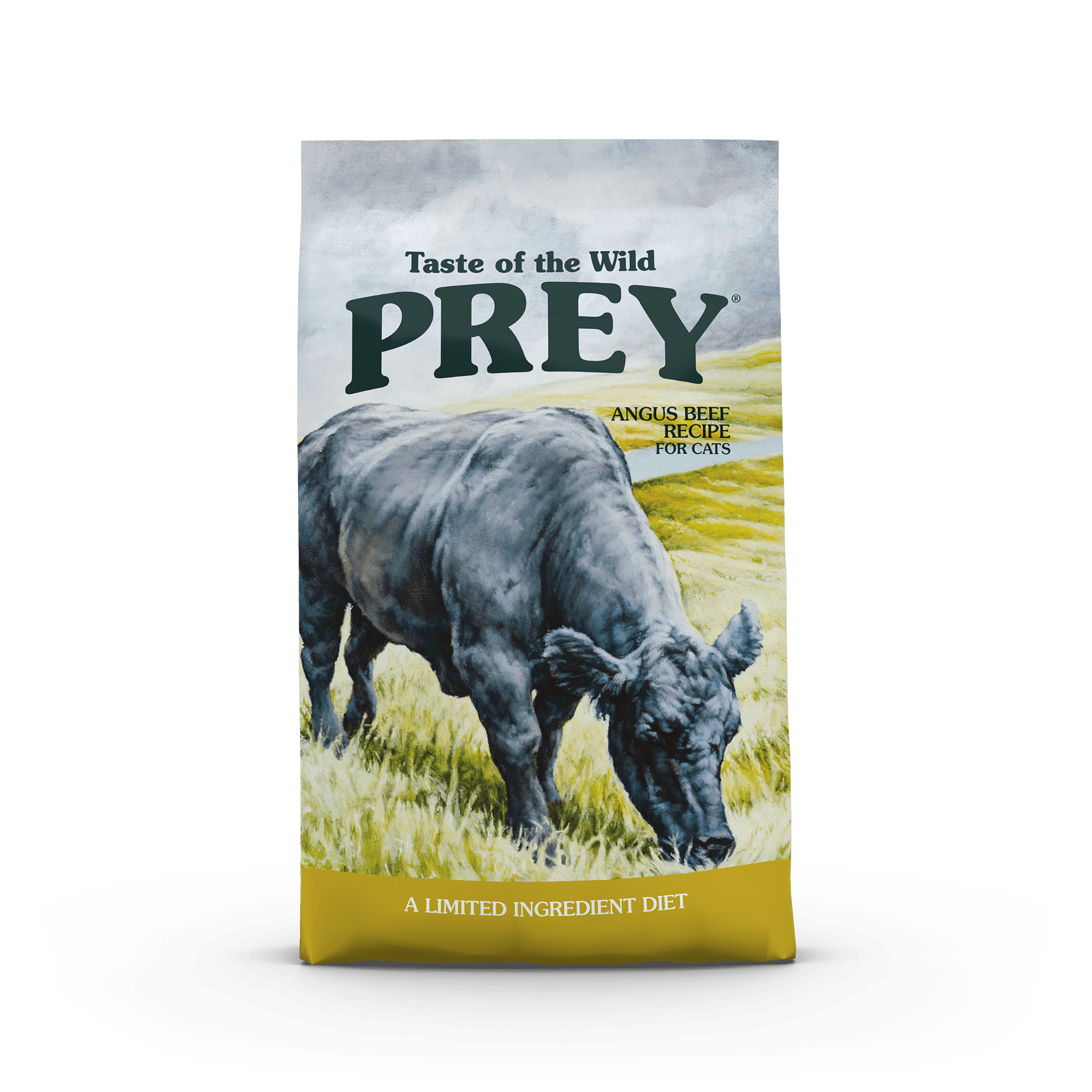 Taste of the Wild PREY Angus Beef Limited Ingredient Recipe for Cats package