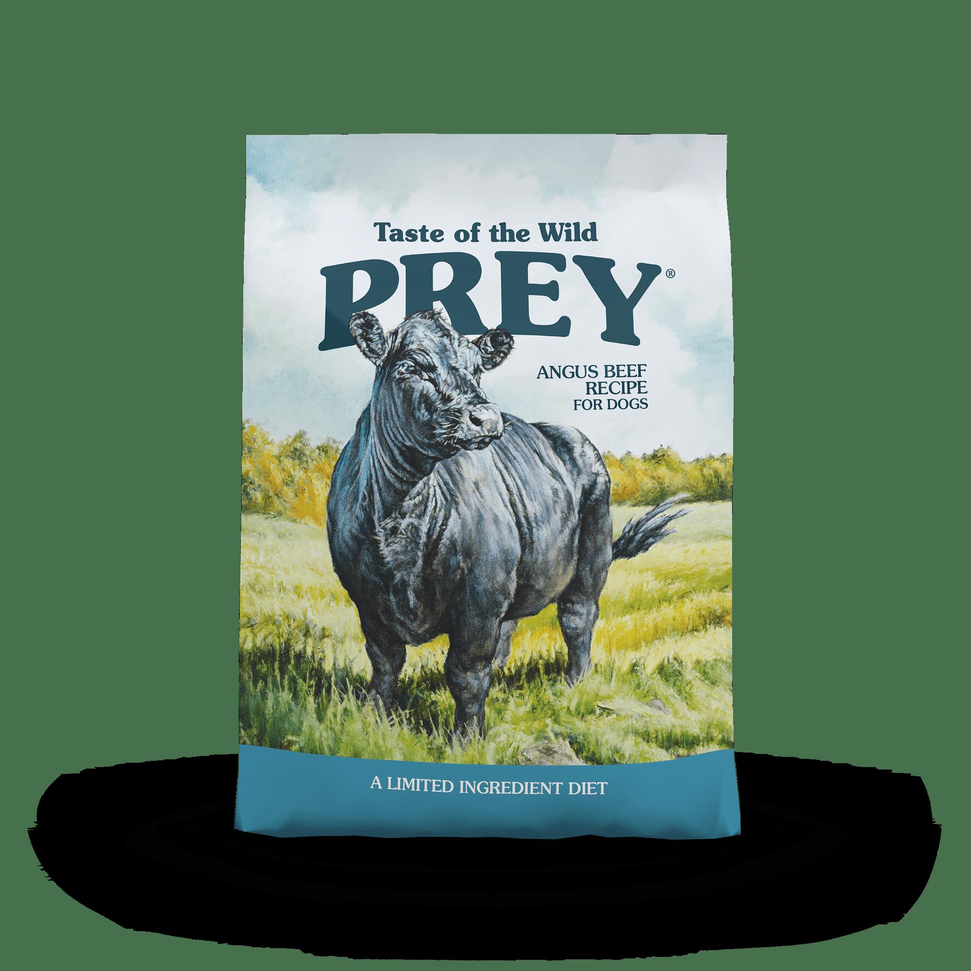 PREY Limited Ingredient  Angus Beef Limited Ingredient Recipe