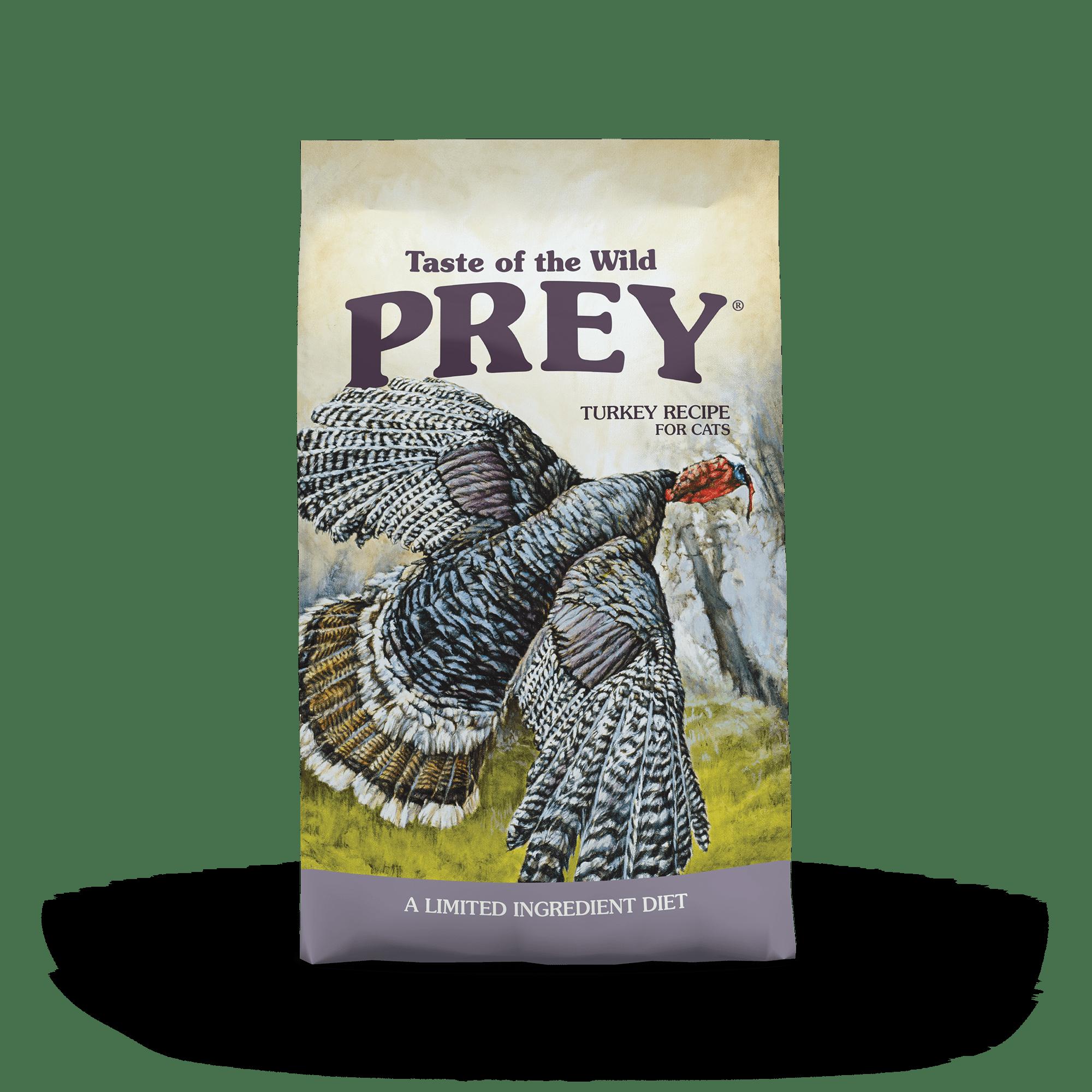 PREY Turkey Limited Ingredient Formula for Cats bag front