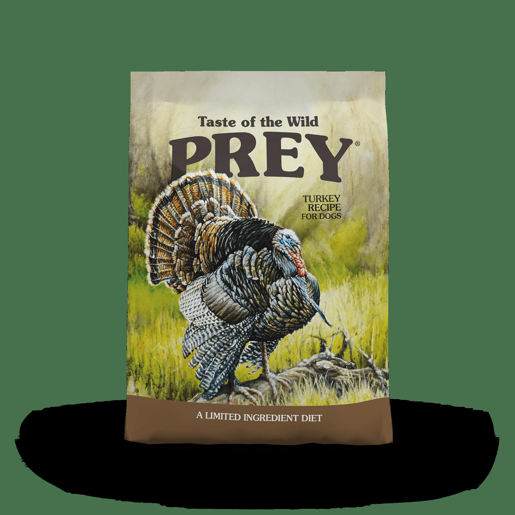 PREY Turkey Limited Ingredient Formula for Dogs bag front