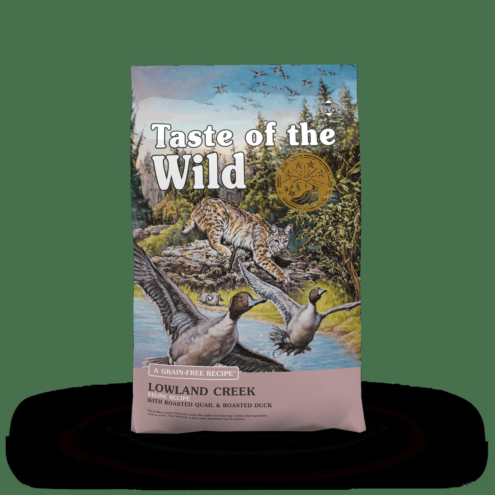 Lowland Creek Feline Recipe with Roasted Quail & Roasted Duck Image