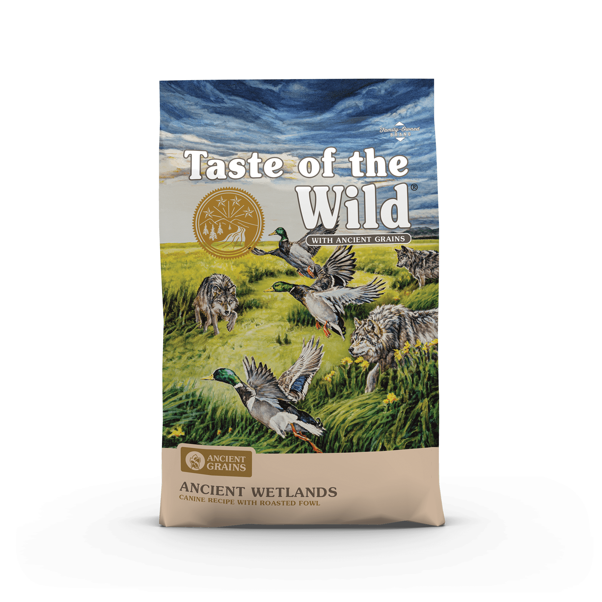 Taste of the Wild Ancient Grains  Ancient Wetlands Canine Recipe