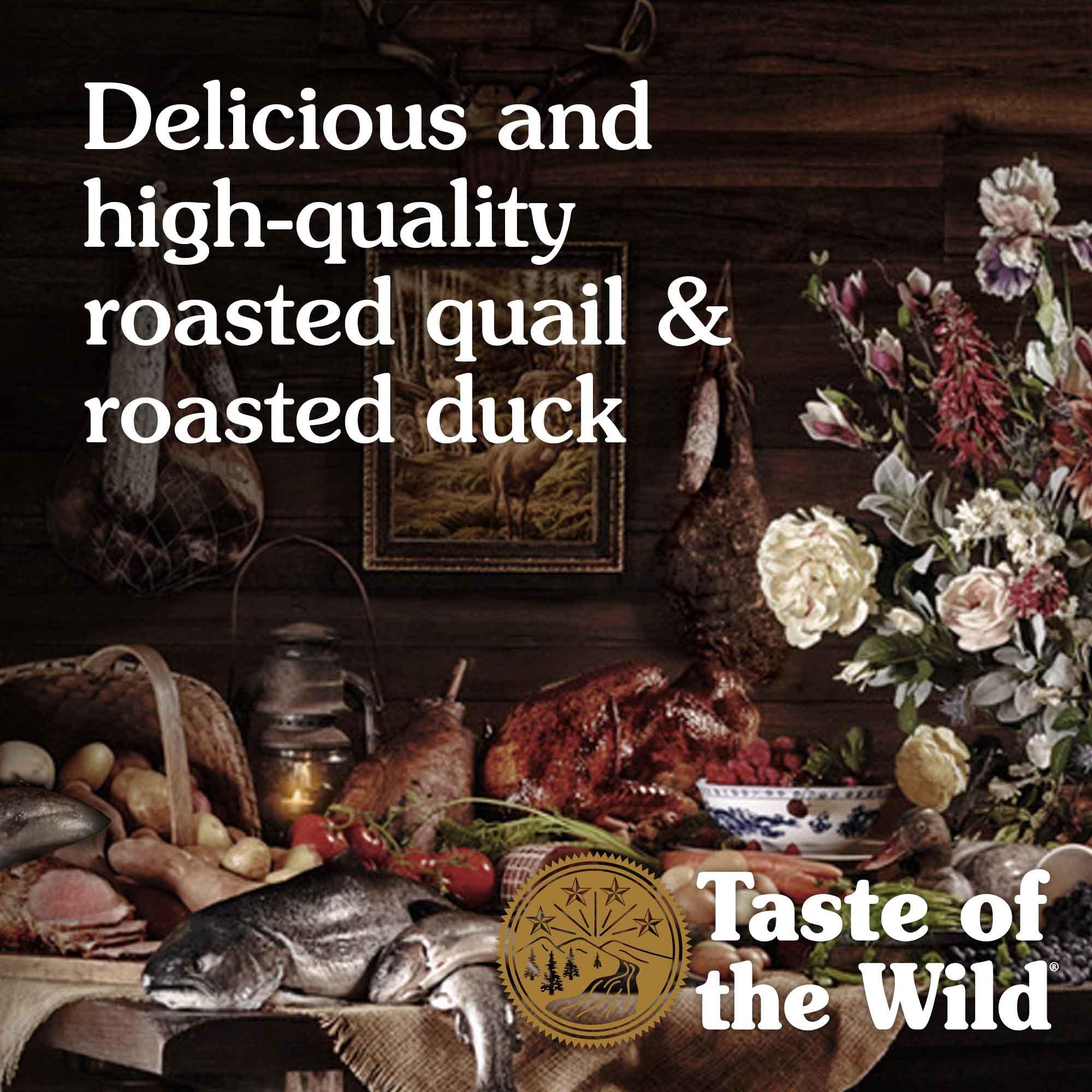 Lowland Creek Roasted Quail & Roasted Duck