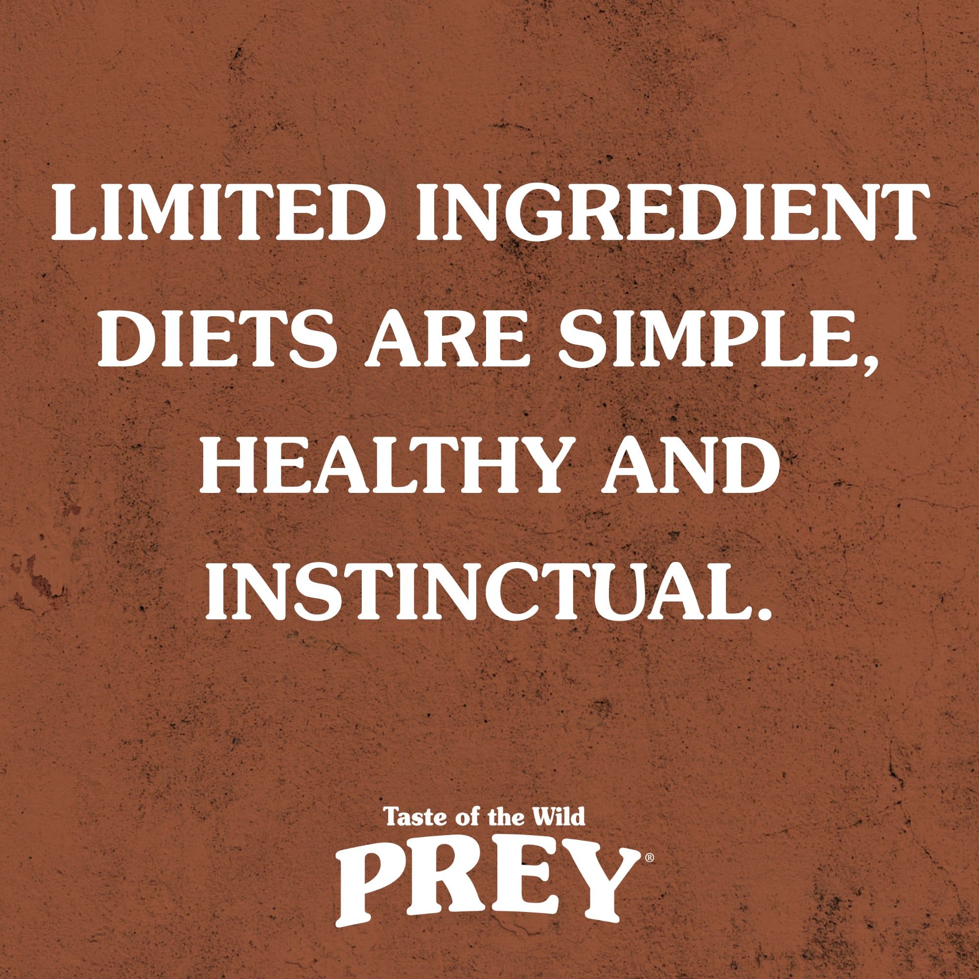 Limited-Ingredient Diets Are Simple, Healthy and Instinctual | Taste of the Wild