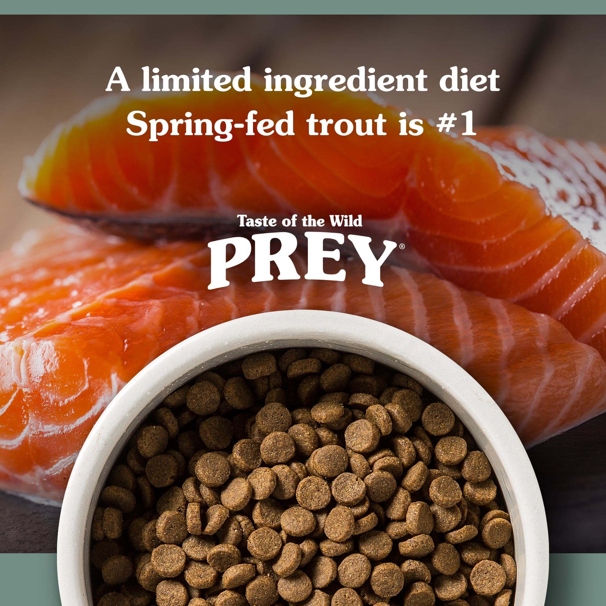 PREY Trout Recipe for Dogs | Taste of the Wild