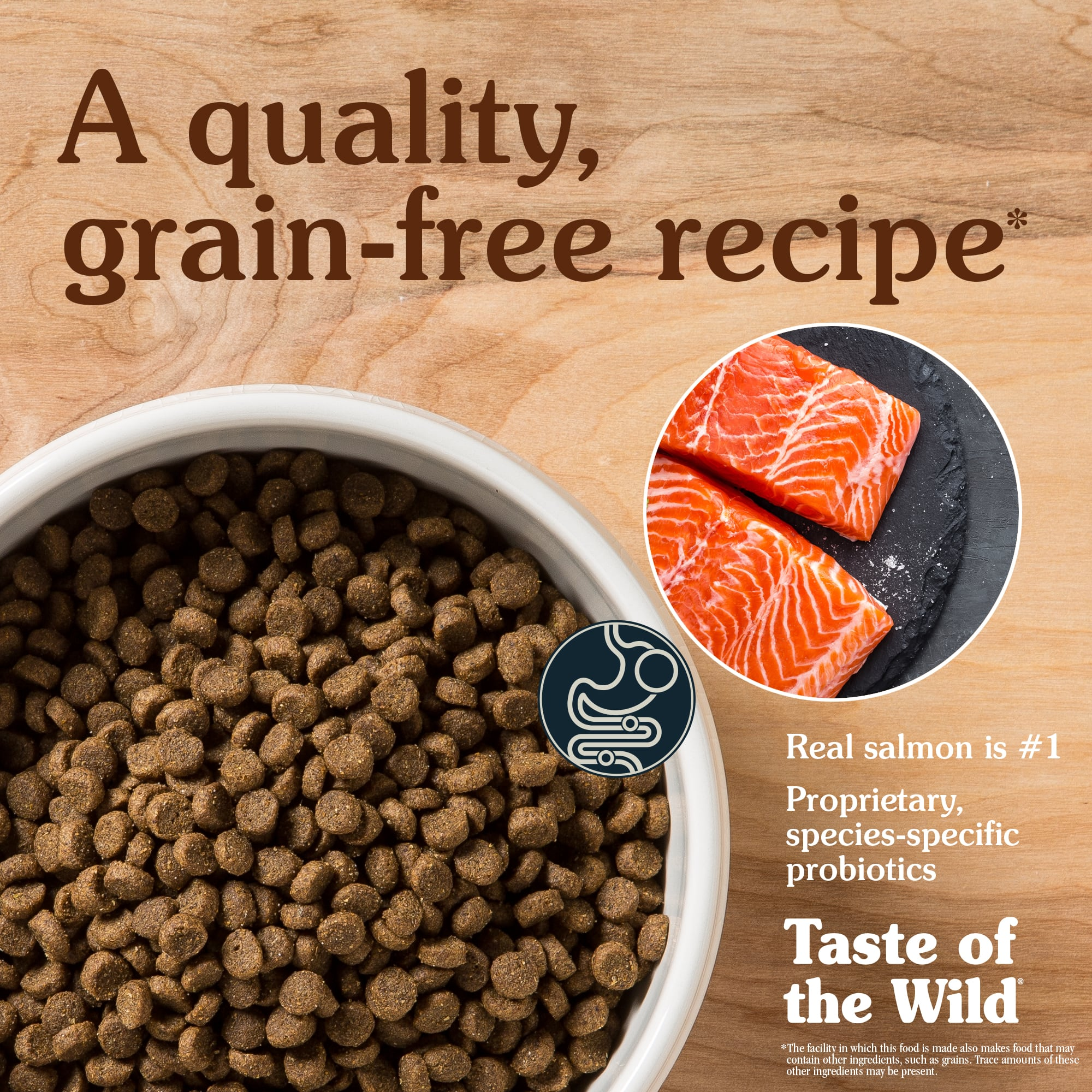 Pacific Stream Puppy Recipe with Smoked Salmon   Taste of the Wild