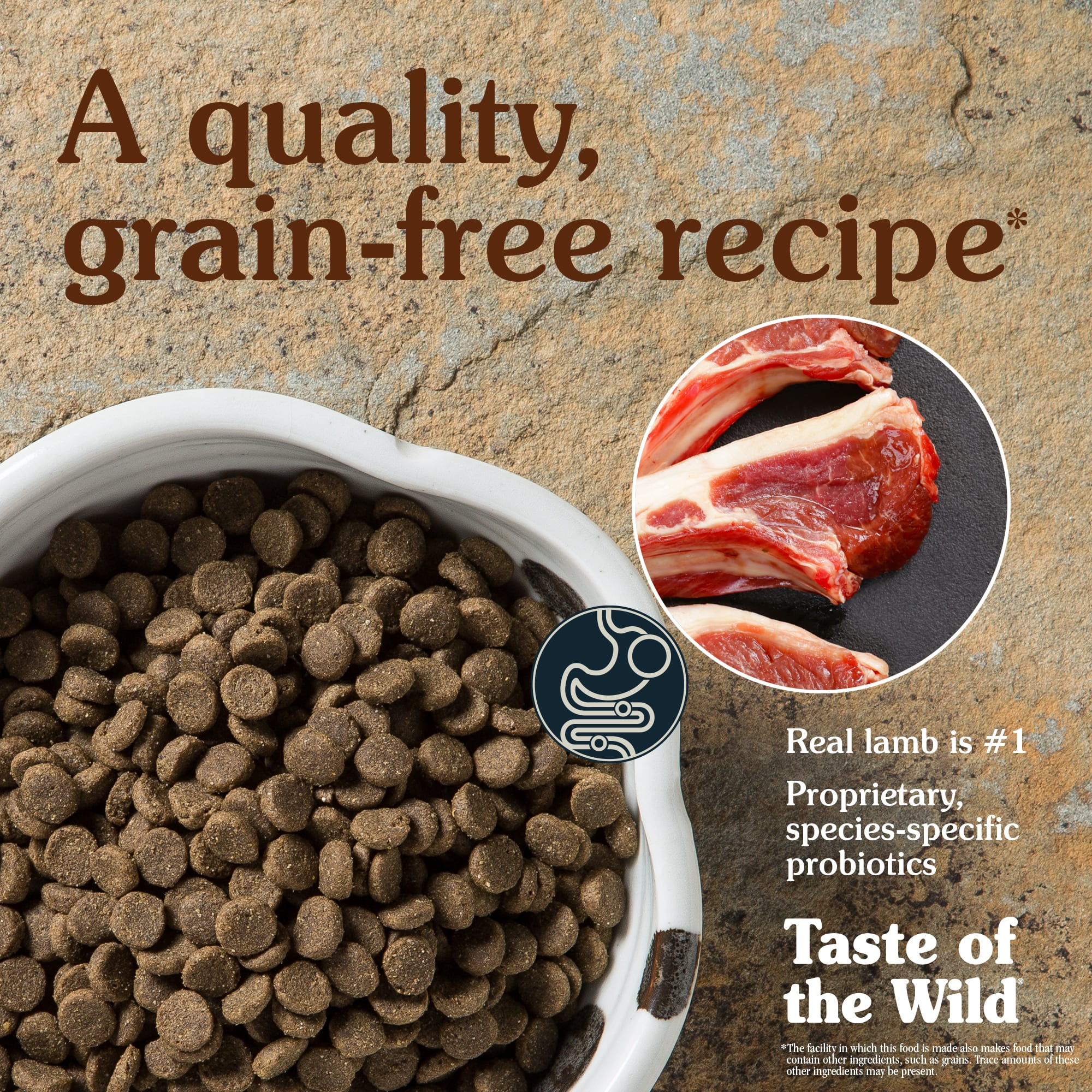 Sierra Mountain Canine Recipe with Roasted Lamb | Taste of the Wild